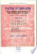 Pleitos de hidalguía que se conservan en el Archivo de la Real Chancillería de Valladolid: Boces-Campillo