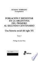 Población y bienestar en la Argentina del primero al segundo centenario