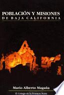 Población y misiones de Baja California