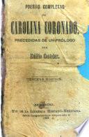 Poesias completas de Carolina Coronado