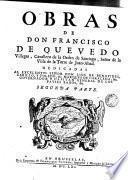 Poesias de D. Francisco Quevedo Villegas, 3