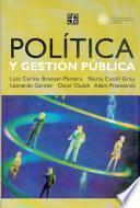 Política y gestión pública