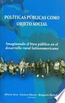 Políticas públicas como objeto social