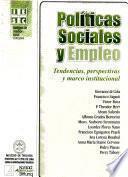 Politícas sociales y empleo