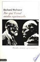 Por qué Freud estaba equivocado