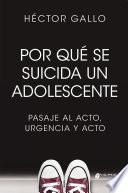 Por qué se suicida un adolescente