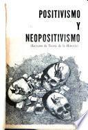 Positivismo y neopositivismo