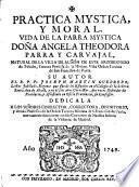 Práctica mystica, y moral