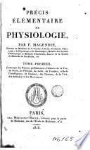 Précis élémentaire de physiologie