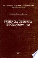 Presencia de España en Orán, 1509-1792