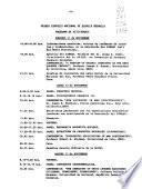 Primer Simposio Nacional de Química Orgánica con contribuciones internacionales