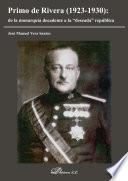 Primo de Rivera: de la monarquía decadente a la deseada república.