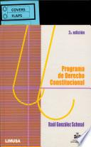 Programa de derecho constitucional