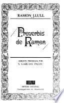 Proverbis de Ramon Llull