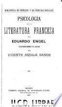 Psicología de la literatura francesa