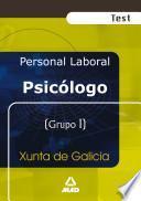 Psicólogo de la Xunta de Galicia