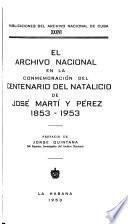 Publicaciones del Archivo Nacional de Cuba