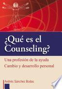 Qué es el counseling?
