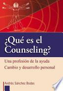 Que es el counseling?/ What is counseling?