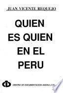 Quién es quién en el Perú
