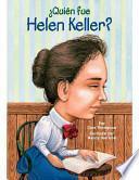 ¿Quién fue Helen Keller?