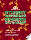 Random House Webster's Student Notebook Spanish Dictionary