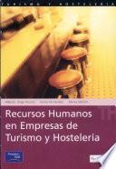 Recursos humanos en empresas de turismo y hostelería