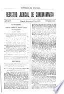 Registro judicial de Cundinamarca