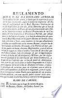 Reglamento que S. M. se ha dignado aprobar con la calidad de por ahora, ... de los Derechos que se han de cobrar para desde primero de Enero del año próximo venidero de 1786 en las Administraciones de Rentas Provinciales de las Ciudades y Villas Capitales de Provincia y Partido ...
