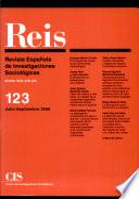 REIS - Julio/Septiembre 2008