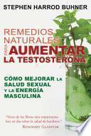 Remedios naturales para aumentar la testosterona