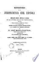Repertorio de la jurisprudencia civil española, 3