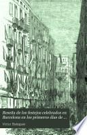 Reseña de los festejos celebrados en Barcelona en los primeros dias de mayo de 1860, con motivo del regreso de los voluntarios de Cataluña y tropas del Ejército de África