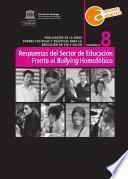 Respuestas del Sector de Educación Frente al Bullying Homofóbico – N° 8