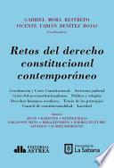 Retos del derecho constitucional contemporáneo