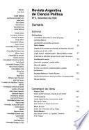Revista argentina de ciencia política