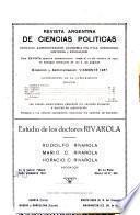 Revista argentina de ciencias políticas