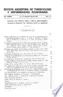 Revista Argentina de Tuberculosis Y Enfermedades Pulmonares