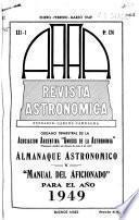 Revista astronómica