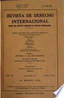 Revista de derecho internacional