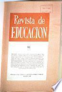 Revista de Educación