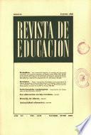 Revista de educación nº 182