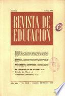 Revista de educación nº 185