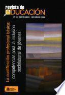 Revista de educación nº 341. La cualificación profesional básica: competencias para la inclusión sociolaboral de jóvenes