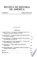Revista de Historia de América