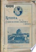Revista de la Sociedad Astronómicos y Geofísicos