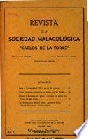 Revista de la Sociedad Malacológica Carlos de la Torre.