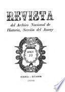 Revista del Archivo Nacional de Historia, Sección del Azuay