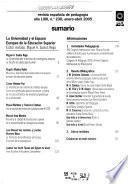 Revista española de pedagogía