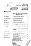 Revista fuerzas armadas y sociedad